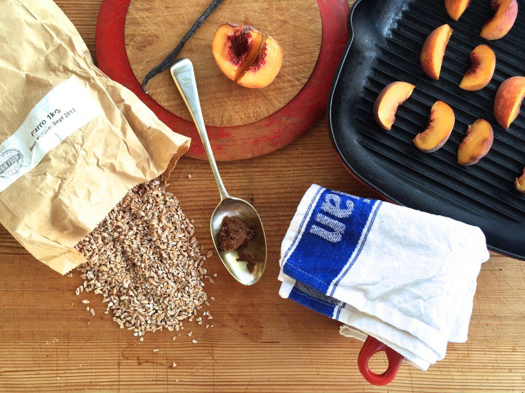 Broken Farro Porridge - Muscovado sugar