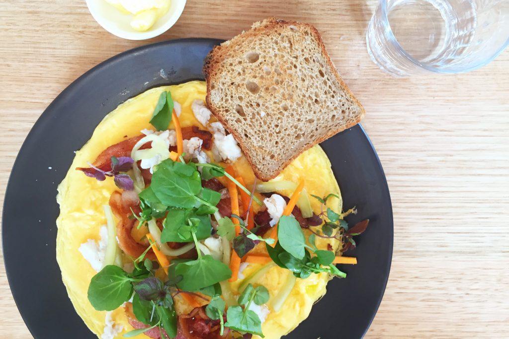 Rudimentary omelette