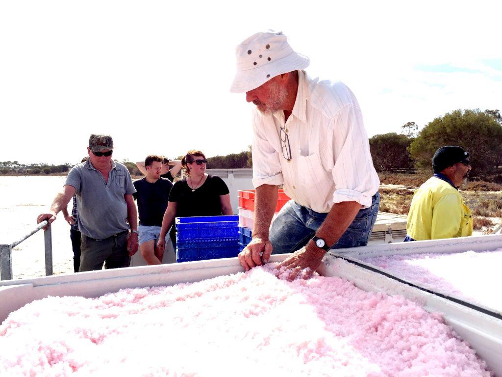 Pink Lake Salt