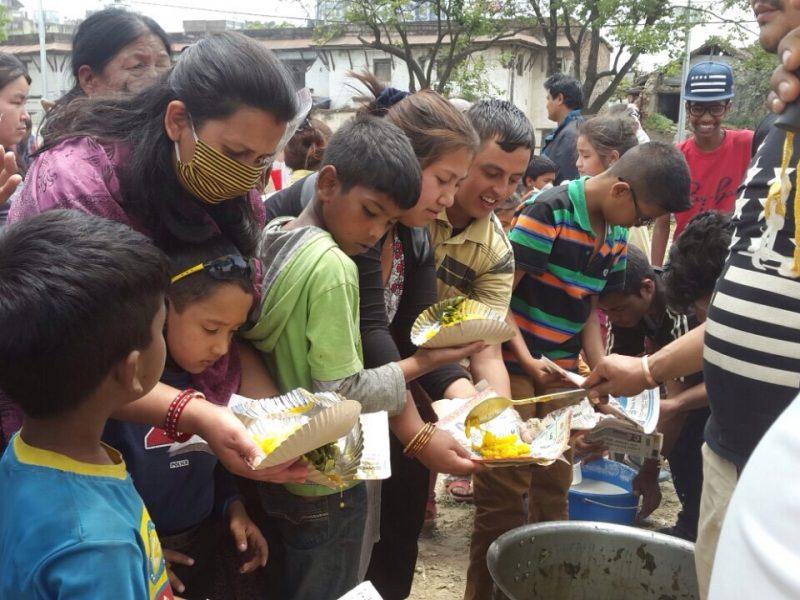 Feed of Kids - Nepa Earthquake