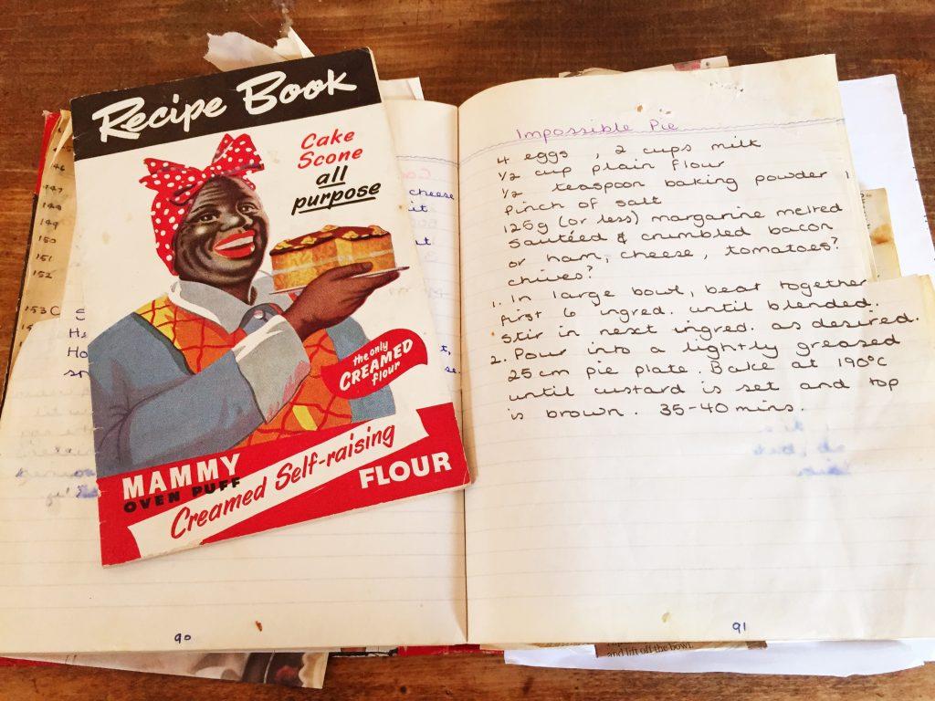 Emma Stirling's recipe cook book