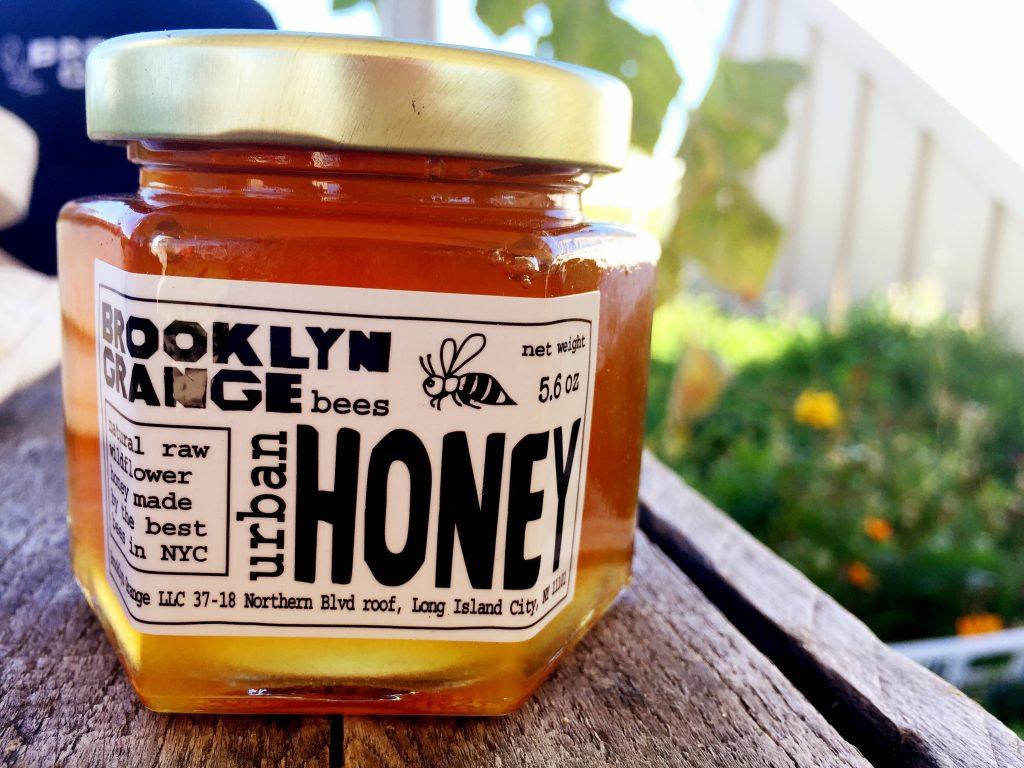 brooklyn grange bees urban honey